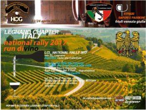 I° National Rally Legnano Chapter
