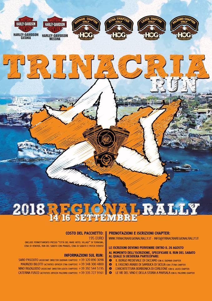 Trinacria Regional Rally 2018