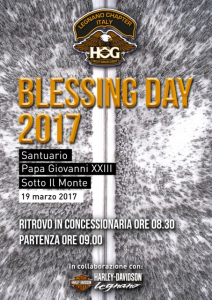 Blessing Day – 19 marzo 2017 Editoriale