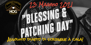 Blessing & Patching Day 2021