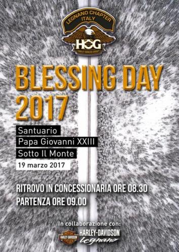 Locandina Blessing Day 2017