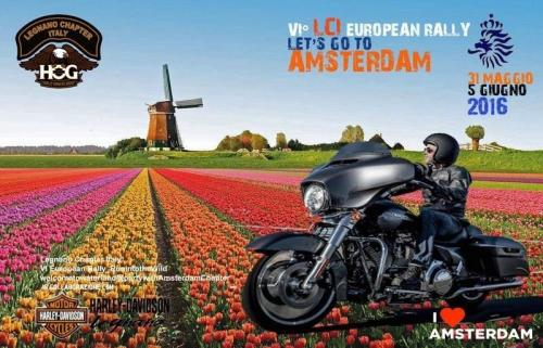 Europena Rally Amsterdam 2016