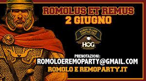 Romolus et Remus 2018