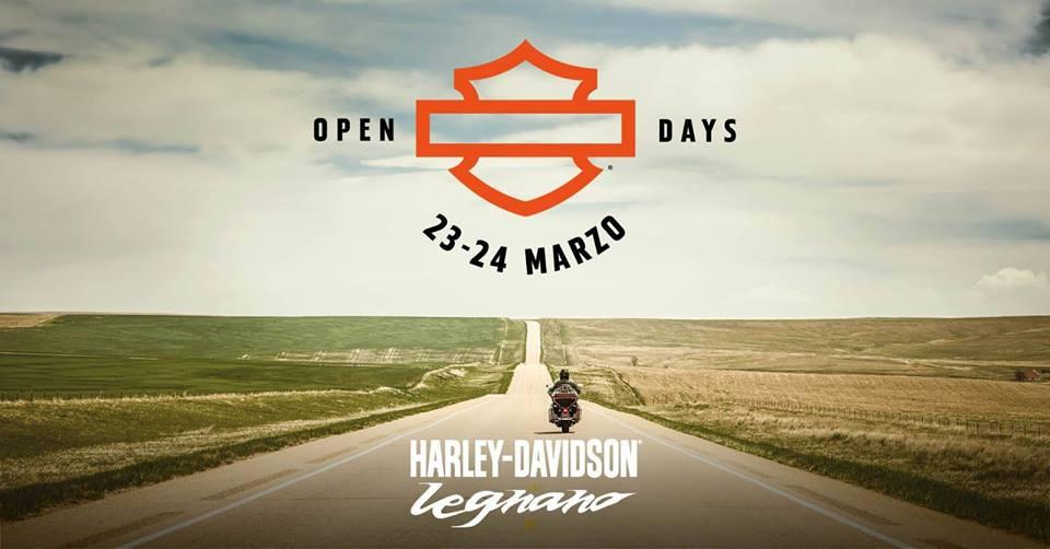 Open Day Harley-Davidson Legnano Marzo 2019