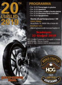 20° Compleanno Monza Chapter